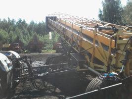 Выездная стыковка методом горячей вулканизации конвейерной ленты
