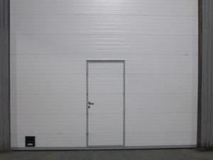 Монтаж секционных ворот DoorHan cерии ISD01