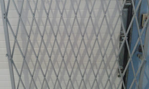 Изготовление раздвижных ворот решетчатого типа