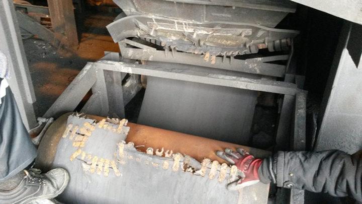 Аварийный ремонт конвейера