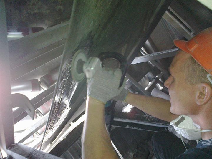 Ремонт продольного пореза конвейерной ленты