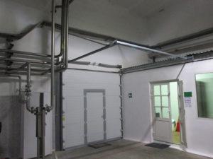 Монтаж секционных ворот DoorHan серии ISD01 DUS-480