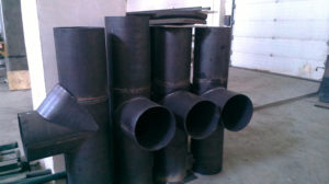 Изготовление и монтаж трубопроводов и воздуховодов под заказ