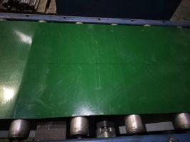 Стыковка ПВХ конвейерных лент методом горячей вулканизации