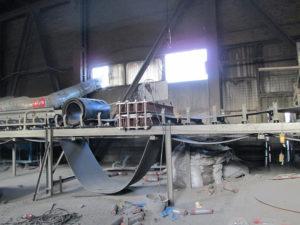 Стыковка конвейерной ленты шириной 1000 мм