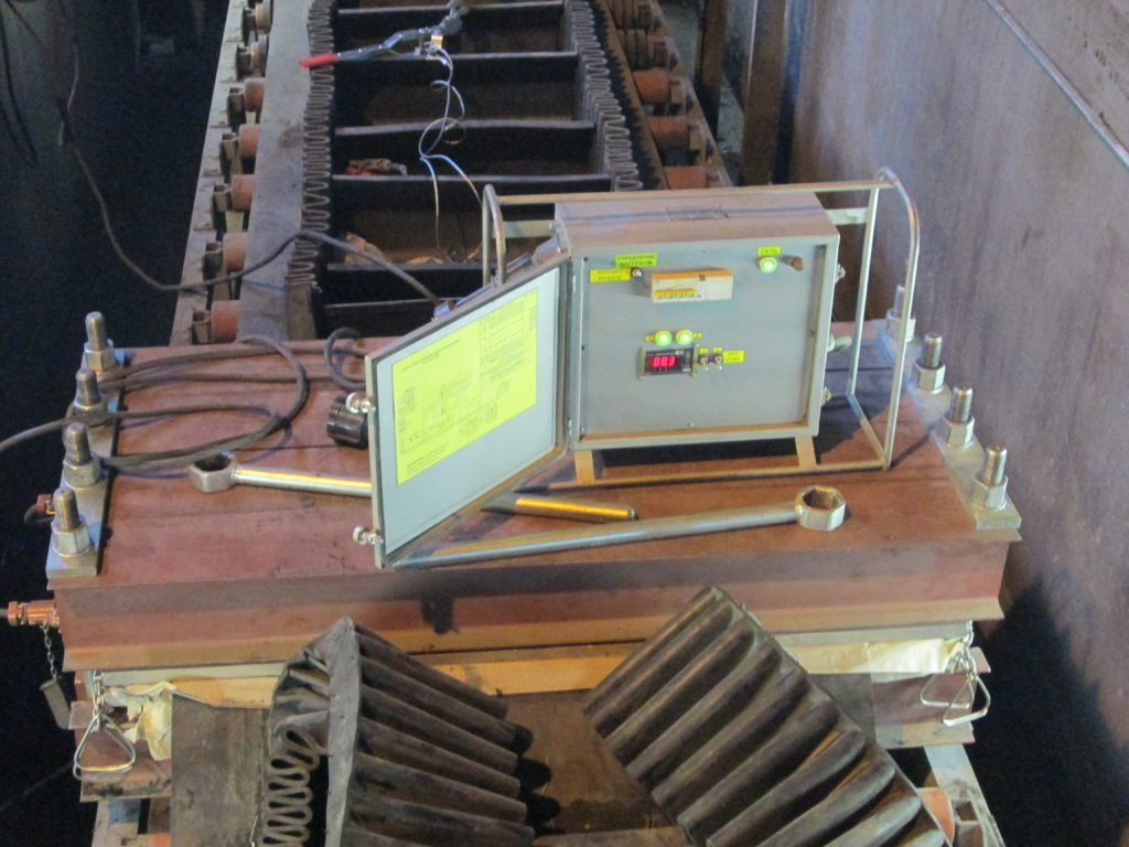 Стыковка элеваторной конвейерной ленты типа Maxoflex