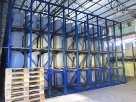 Работы по модернизации стеллажей