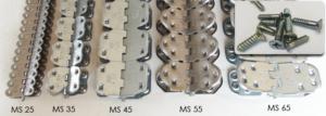 Замки для механического соединения конвейерных лент