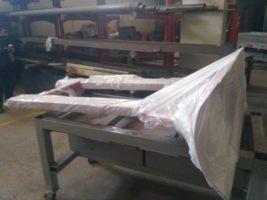 Изготовление снегоотвалов из металлоконструкций для вилочного автопогрузчика