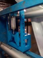 Принтер флексопечати на стане, позволяющем производить передвижение по оси x и y