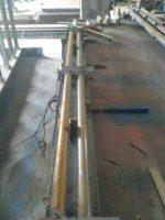 Изготовление и монтаж снегозадержателей из металлоконструкций на мягкую кровлю