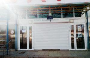 Установка роллетных ворот на проём под заказ