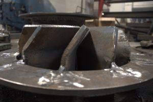 Процесс изготовления деталей модерниpированной аэрофонтанной сушилки для песка