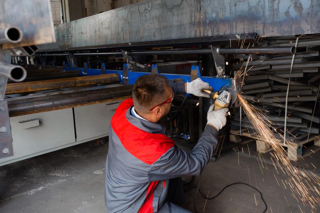 Промышленные работы и модернизация оборудования