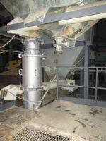 Модернизированная установка аэрофонтанной сушилки для песка