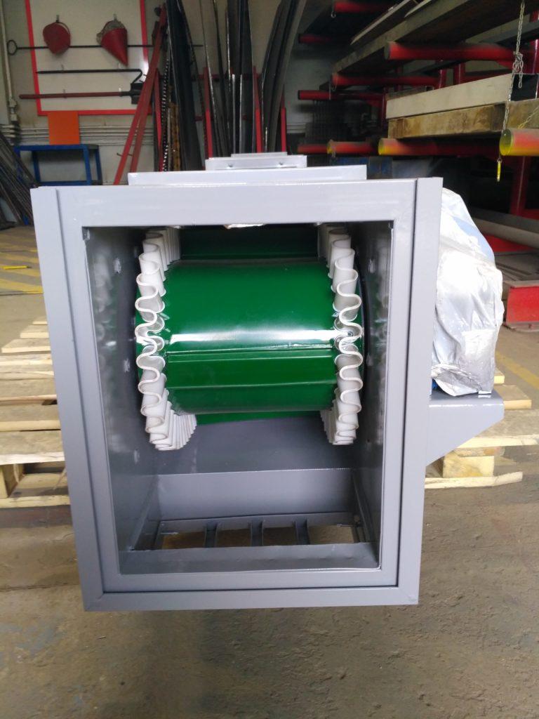 Изготовление конвейера и установка конвейерной ПВХ ленты