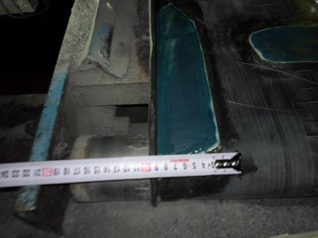 Аварийный ремонт транспортёрной ленты в праздничные дни