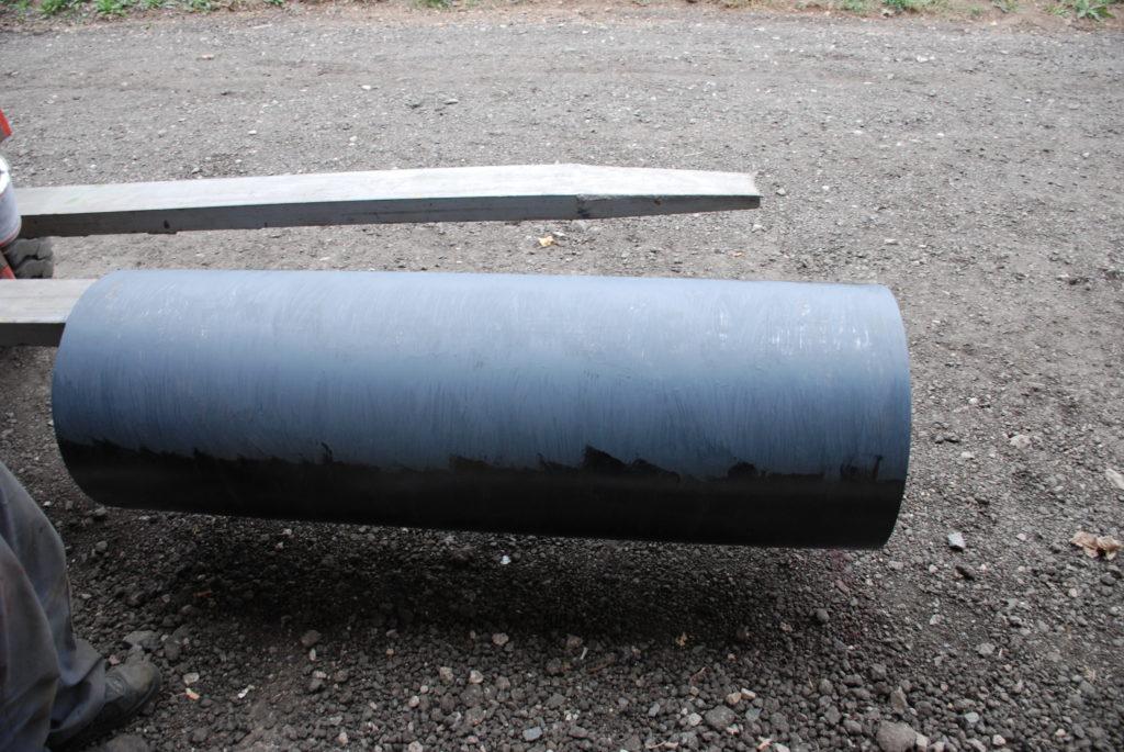 Работы по срочной футеровке барабанов для магнитного сепаратора