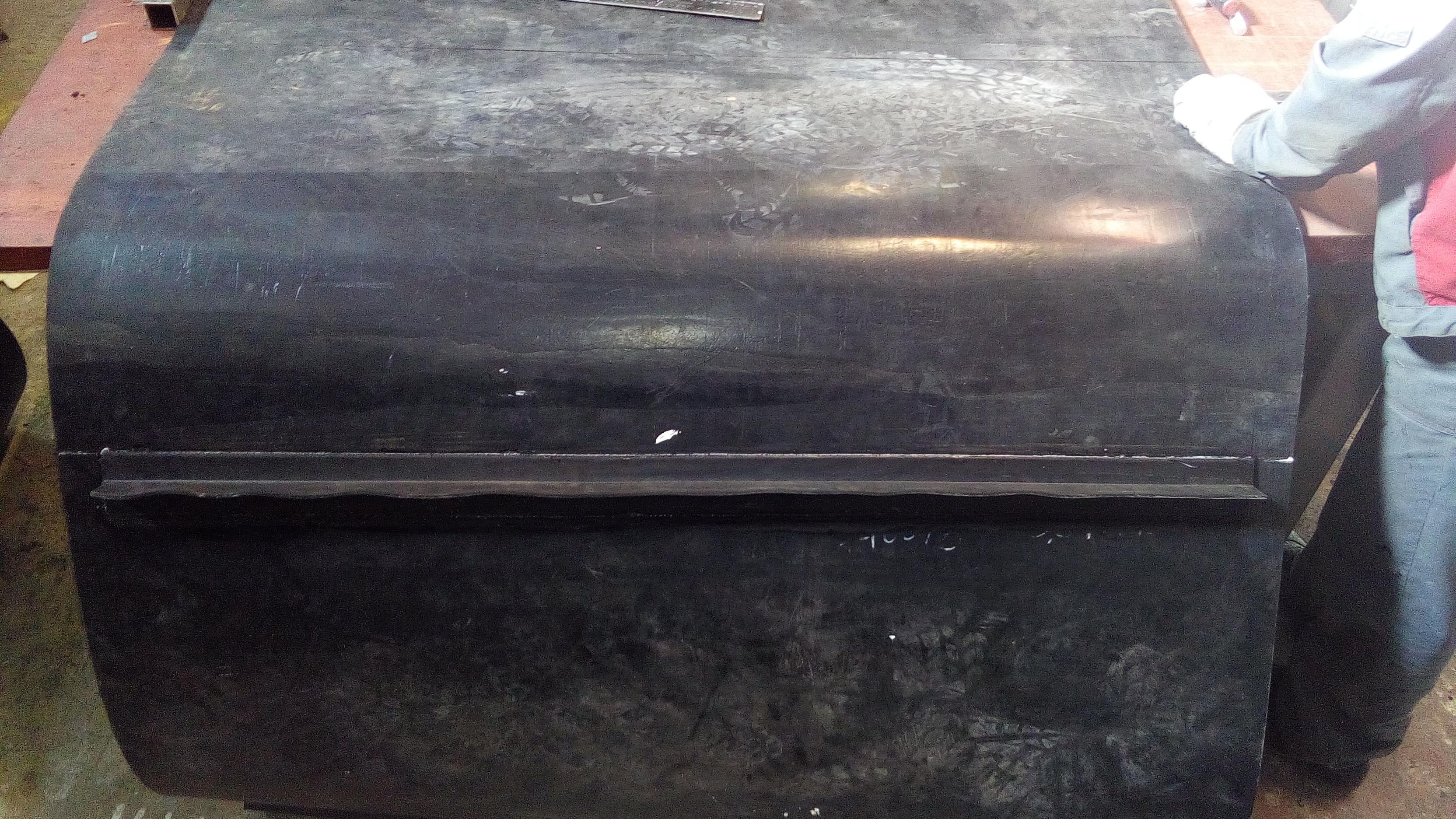 Изготовление конвейерной ленты в кольцо методом холодной вулканизации 1400мм шириной