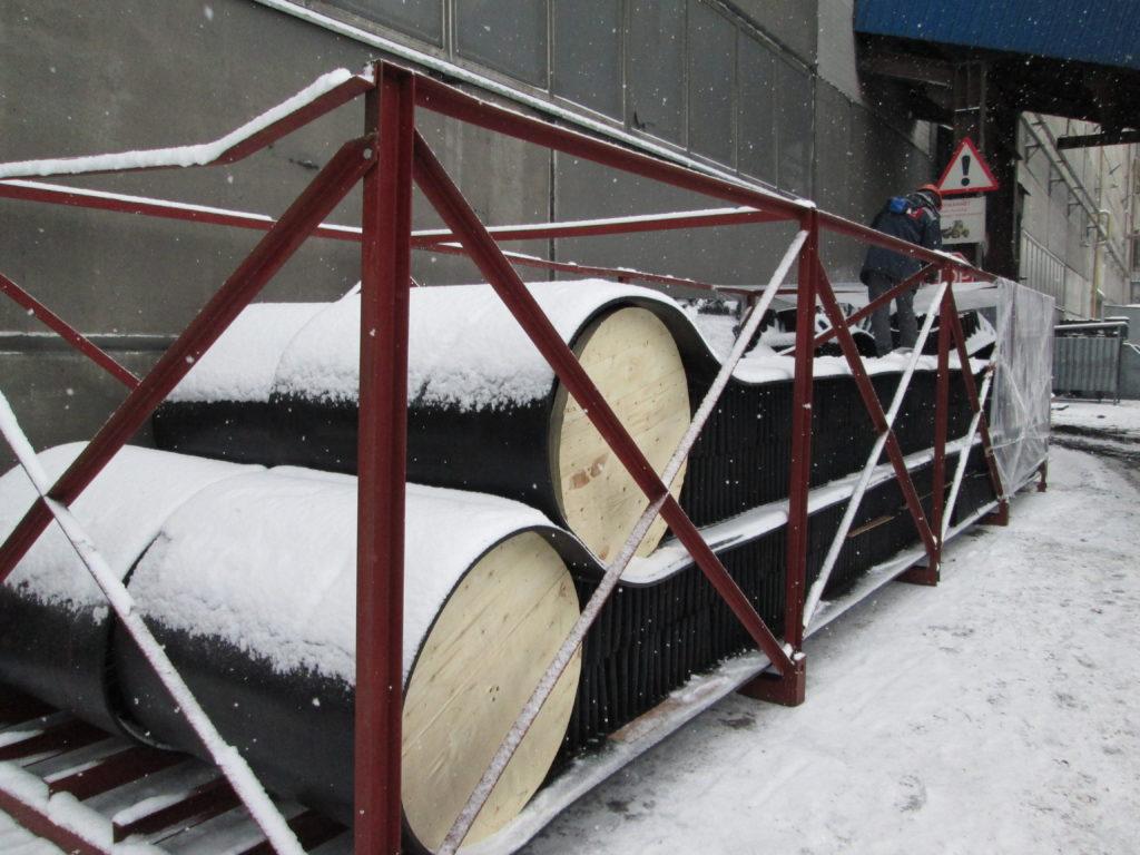 Поставка элеваторной конвейерной ленты с гофробортом класса FB-WELL