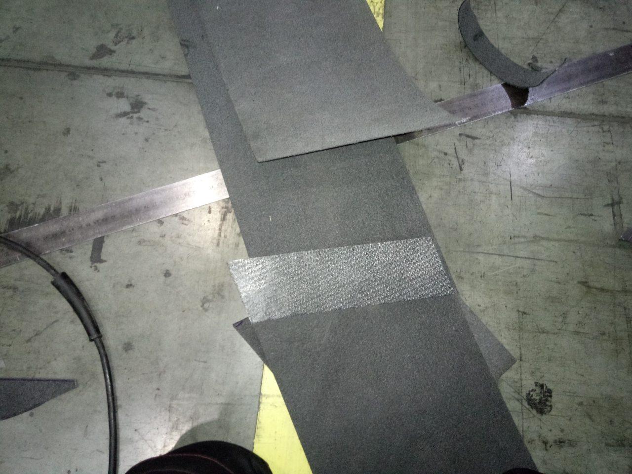 Стыковка фетровых конвейерных лент методом горячей вулканизации