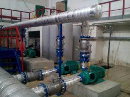Работы по можернизации насосного борудования
