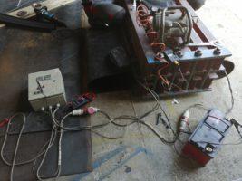Изготовление транспортёрных лент в кольцо методом горячей вулканизации для магнитных сепараторов