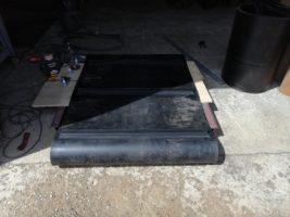 Изготовление транспортёрной ленты для магнитного сепаратора