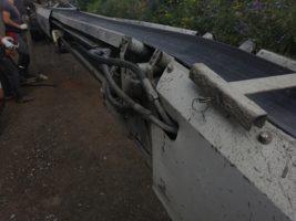 Ремонт конвейерной ленты на транспортёре Liebherr
