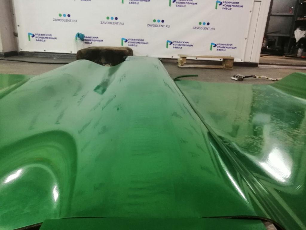 Изготовление ПВХ лент в кольцо методом горячей вулканизации для Казахстана