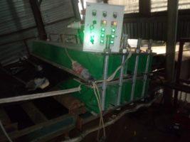 Замена транспортёрной ленты и стыковка горяче вулканизацией на мусоросортировочном заводе