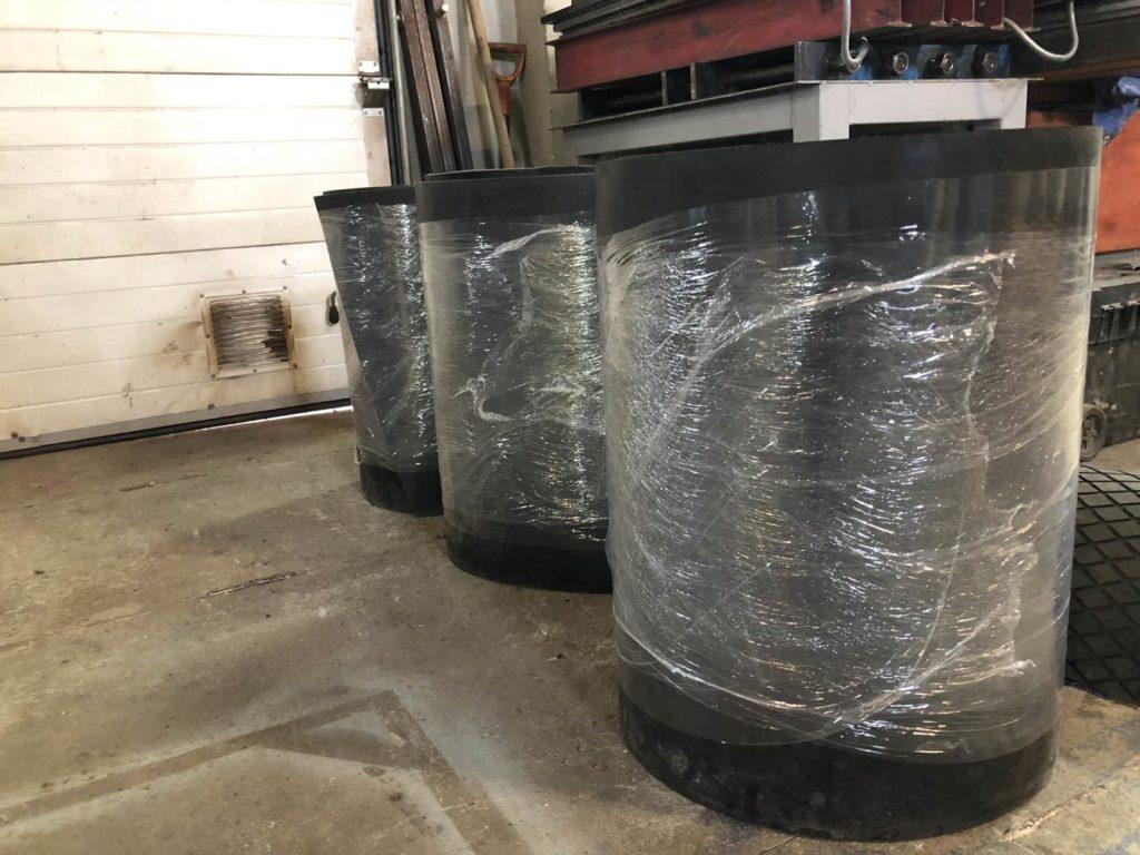 Изготовление конвейерных лент для весовых дозаторов