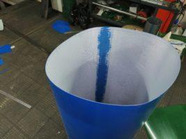 Изготовление лент из пищевого ПВХ методом горячей вулканизации