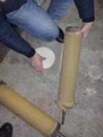 Футеровка валов и барабанов конвейерного оборудования