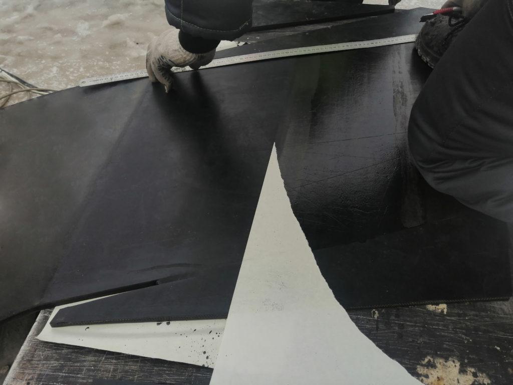 Подбор и стыковка ленты на асфальто-бетонном заводе