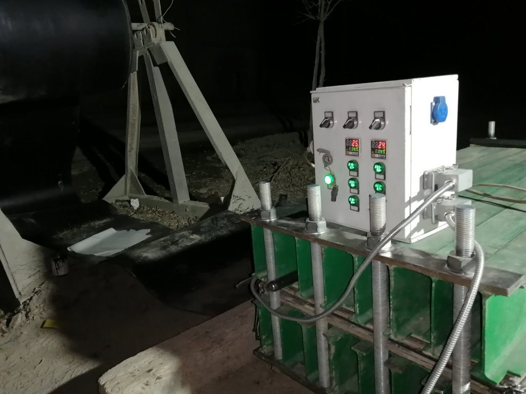 Замена конвейерной ленты и стыковка горячей вулканизацией
