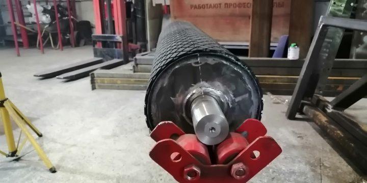 Изготовление футерованных приводных барабанов