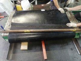 Изготовление теплостойкой транспортёрной ленты до 250°С