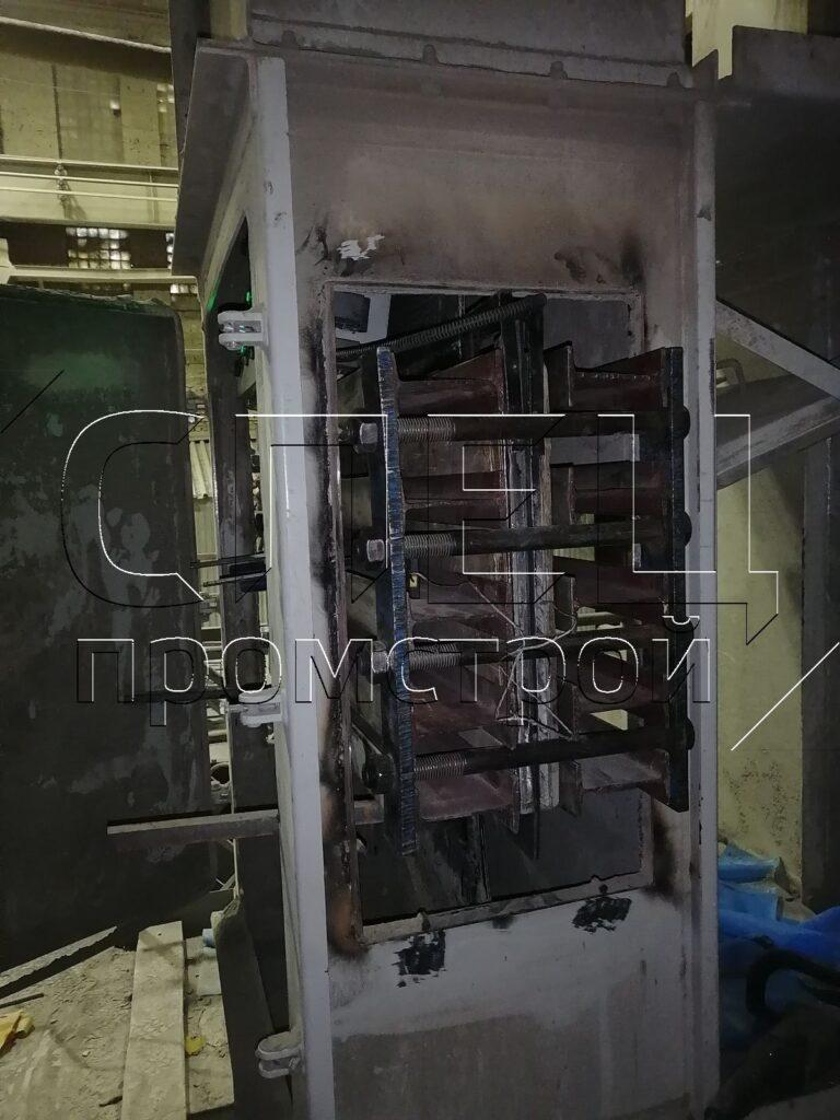 Ремонт элеваторной резино-троссовой ленты горячей вулканизацией