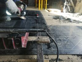 Изготовление транспортёрных лент для магнитных сепараторов